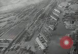 Image of Aerial view New York City and Manhattan Island New York City USA, 1939, second 22 stock footage video 65675032800
