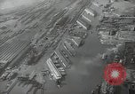 Image of Aerial view New York City and Manhattan Island New York City USA, 1939, second 23 stock footage video 65675032800