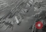 Image of Aerial view New York City and Manhattan Island New York City USA, 1939, second 24 stock footage video 65675032800