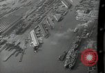 Image of Aerial view New York City and Manhattan Island New York City USA, 1939, second 25 stock footage video 65675032800