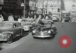 Image of New York City police car driving in midtown Manhattan New York City USA, 1939, second 5 stock footage video 65675032802