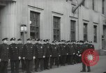 Image of New York City policemen 18th Precinct New York City USA, 1939, second 29 stock footage video 65675032804