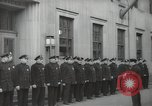 Image of New York City policemen 18th Precinct New York City USA, 1939, second 32 stock footage video 65675032804
