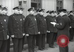 Image of New York City policemen 18th Precinct New York City USA, 1939, second 37 stock footage video 65675032804