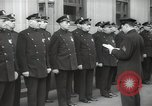 Image of New York City policemen 18th Precinct New York City USA, 1939, second 38 stock footage video 65675032804