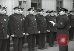 Image of New York City policemen 18th Precinct New York City USA, 1939, second 39 stock footage video 65675032804