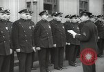 Image of New York City policemen 18th Precinct New York City USA, 1939, second 40 stock footage video 65675032804