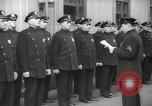 Image of New York City policemen 18th Precinct New York City USA, 1939, second 42 stock footage video 65675032804