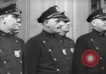 Image of New York City policemen 18th Precinct New York City USA, 1939, second 52 stock footage video 65675032804