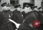 Image of New York City policemen 18th Precinct New York City USA, 1939, second 54 stock footage video 65675032804