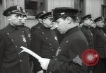 Image of New York City policemen 18th Precinct New York City USA, 1939, second 60 stock footage video 65675032804