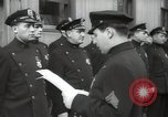 Image of New York City policemen 18th Precinct New York City USA, 1939, second 61 stock footage video 65675032804