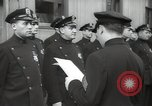 Image of New York City policemen 18th Precinct New York City USA, 1939, second 62 stock footage video 65675032804