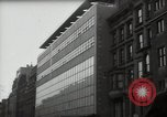 Image of paintings in exhibition New York City USA, 1950, second 19 stock footage video 65675032805