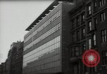 Image of paintings in exhibition New York City USA, 1950, second 22 stock footage video 65675032805