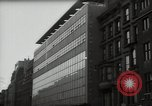 Image of paintings in exhibition New York City USA, 1950, second 23 stock footage video 65675032805