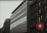 Image of paintings in exhibition New York City USA, 1950, second 25 stock footage video 65675032805