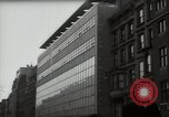 Image of paintings in exhibition New York City USA, 1950, second 31 stock footage video 65675032805