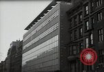 Image of paintings in exhibition New York City USA, 1950, second 33 stock footage video 65675032805