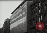 Image of paintings in exhibition New York City USA, 1950, second 36 stock footage video 65675032805