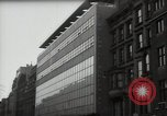 Image of paintings in exhibition New York City USA, 1950, second 37 stock footage video 65675032805