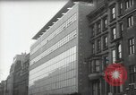 Image of paintings in exhibition New York City USA, 1950, second 38 stock footage video 65675032805