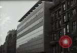 Image of paintings in exhibition New York City USA, 1950, second 41 stock footage video 65675032805