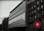 Image of paintings in exhibition New York City USA, 1950, second 50 stock footage video 65675032805