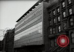 Image of paintings in exhibition New York City USA, 1950, second 51 stock footage video 65675032805