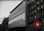 Image of paintings in exhibition New York City USA, 1950, second 53 stock footage video 65675032805
