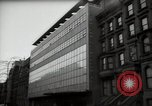 Image of paintings in exhibition New York City USA, 1950, second 55 stock footage video 65675032805