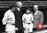 Image of Connie Mack with sons and grandson Philadelphia Pennsylvania USA, 1946, second 42 stock footage video 65675032811