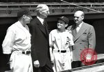 Image of Connie Mack with sons and grandson Philadelphia Pennsylvania USA, 1946, second 43 stock footage video 65675032811