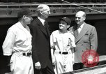 Image of Connie Mack with sons and grandson Philadelphia Pennsylvania USA, 1946, second 44 stock footage video 65675032811