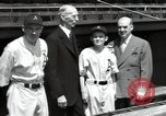 Image of Connie Mack with sons and grandson Philadelphia Pennsylvania USA, 1946, second 47 stock footage video 65675032811