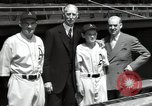 Image of Connie Mack with sons and grandson Philadelphia Pennsylvania USA, 1946, second 49 stock footage video 65675032811
