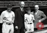 Image of Connie Mack with sons and grandson Philadelphia Pennsylvania USA, 1946, second 50 stock footage video 65675032811