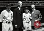 Image of Connie Mack with sons and grandson Philadelphia Pennsylvania USA, 1946, second 52 stock footage video 65675032811