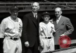 Image of Connie Mack with sons and grandson Philadelphia Pennsylvania USA, 1946, second 53 stock footage video 65675032811