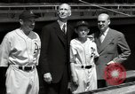 Image of Connie Mack with sons and grandson Philadelphia Pennsylvania USA, 1946, second 54 stock footage video 65675032811