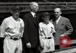 Image of Connie Mack with sons and grandson Philadelphia Pennsylvania USA, 1946, second 57 stock footage video 65675032811