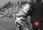 Image of Baseball movie making California United States USA, 1932, second 13 stock footage video 65675032823