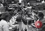 Image of liquor bottle United Kingdom, 1950, second 27 stock footage video 65675032848