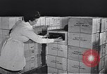 Image of liquor bottle United Kingdom, 1950, second 42 stock footage video 65675032848