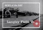 Image of airplane Langley Field Virginia USA, 1938, second 18 stock footage video 65675032860