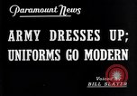 Image of American uniforms United States USA, 1938, second 2 stock footage video 65675032862