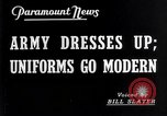 Image of American uniforms United States USA, 1938, second 3 stock footage video 65675032862