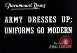 Image of American uniforms United States USA, 1938, second 5 stock footage video 65675032862