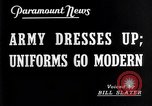 Image of American uniforms United States USA, 1938, second 6 stock footage video 65675032862