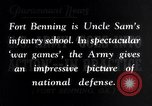 Image of US Army war practice before World War 2 Fort Benning Georgia USA, 1938, second 8 stock footage video 65675032863